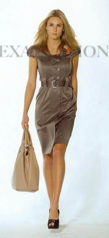 Описание: Французский стиль в одежде.